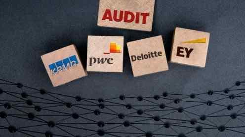 Big Four Accounting Auditing Blockchain