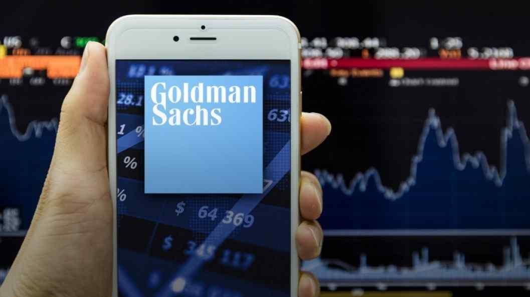 .goldman sachs cryptocurrency