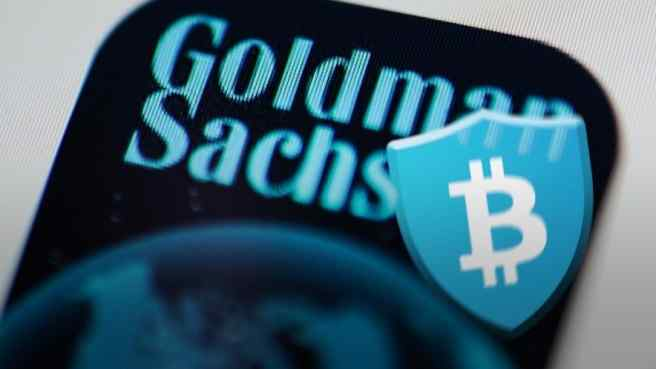 BitGo logo on Goldman Sachs name