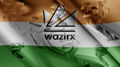 Wazrix name and logo on background of india flag